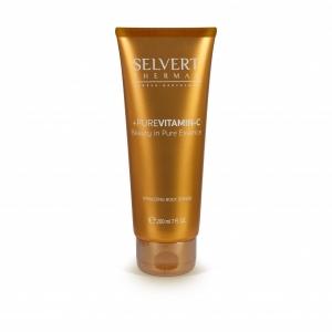 Selvert Thermal + Pure Vitamin-C Vitalizing Body Scrub/ Revitalizuojamasis šveitiklis kūnui, 200 ml