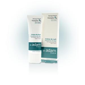 Naktinis kremas prieš odos senėjimą, 40 ml