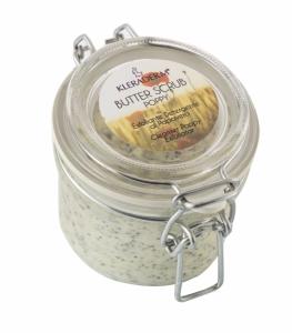BUTTER SCRUB POPPY/Aguonų kūno sviestas - šveitiklis, 400 ml