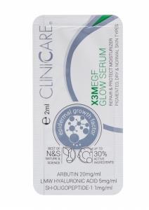 EGF EXTRA GLOW Serum/ Serumas prieš odos senėjimą, antipigmentinis poveikis, 2 ml