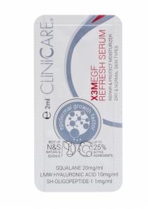 EGF EXTRA REFRESH Serum/ Serumas prieš odos senėjimą, odos atjauninimui, 2 ml