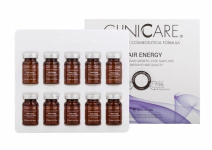 HAIR ENERGY plaukų augimą stimuliuojantis kokteilis, 8 ml