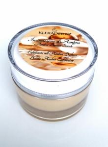 AMBER BUTTER SCRUB/Kūno sviestas – šveitiklis su gintaro pudra, 50 ml