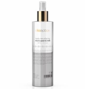 Body resurfacing micro-peel & Milk / Kūno pienelis mikro-pylingas, 400 ml