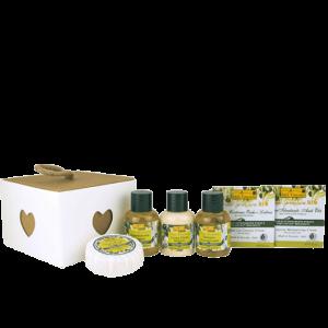 Idea Toscana kūno priežiūros priemonių rinkinys GOOD WAKE UP WISH BOX, 6 prod.