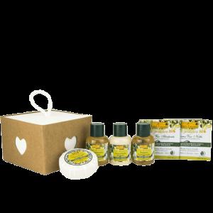 Idea Toscana kūno priežiūros priemonių rinkinys SWEET DREAM WISH BOX, 6 prod.
