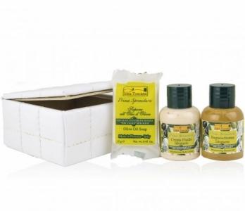 Idea Toscana kūno priežiūros priemonių rinkinys GIFT BOX, 3 prod. (2x30 ml + 30g)