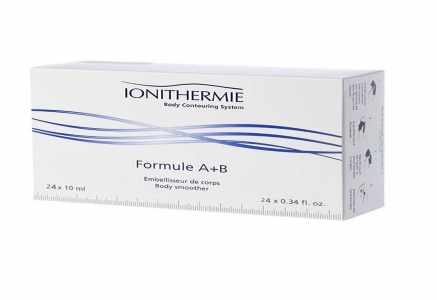 M120 IONITHERMIE FORMULE A+B/Liekninamojo, detoksikuojamojo poveikio ampulės, 10ml x 24vnt.