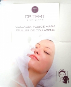 COLLAGEN FLEECE MASK/Kaukė servetėlė su kolagenu ir vitaminu E, 1 vnt.