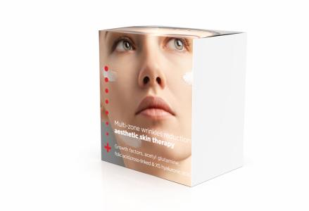MULTI-ZONE WRINKLES REDUCTION/Priešraukšlinė priežiūra: Hialuronic Drops kremas 50ml + HA Deep Filler serumas 30ml + Eye Sorbet kremas 30 ml