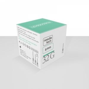 Needletech® adata 32G x 8 mm, Kiekis - 100 vnt.