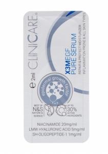 EGF EXTRA PURE Serum/ Serumas prieš odos senėjimą, priešuždegiminis poveikis, 2 ml