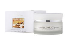 AMBER ANTIAGE CREAM/Regeneruojamasis kremas su gintaro pudra, 50 ml