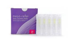 Meso-relle® adata 27G x 12 mm/0,4 mm Dėžutėje 25 vnt.