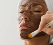 Heating Exfoliating Cacao Mask/Šildomojo ir valomojo poveikio kaukė su kakava, 15g