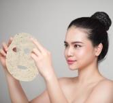 Leaf Mask® Rose&Chamomile/Sausa lakštinė kaukė su rožėmis ir ramūnėlėmis, 1 vnt.