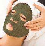 Leaf Mask® Green Tea Mint/Sausa lakštinė kaukė su žaliąja arbata ir pipirmėtėmis, 1 vnt.