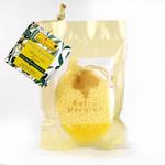 Soft face pad with olive oil/Švelni veido kempinė su alyvuogių aliejumi, 1 vnt.