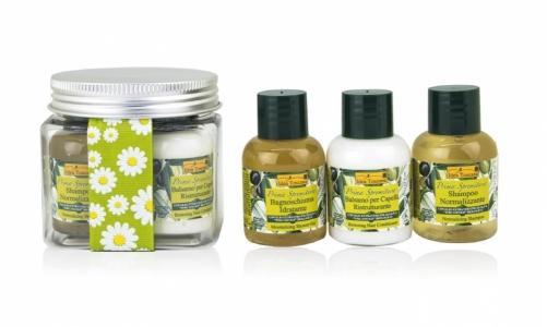 Idea Toscana kūno priežiūros priemonių rinkinys SMALL PET, 3 prod. (3x30 ml)