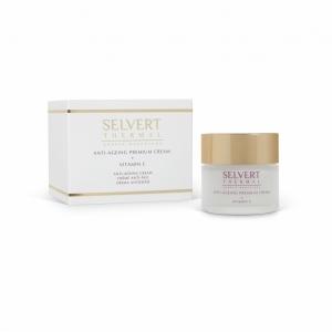 Selvert Thermal ANTI-AGEING PREMIUM CREAM + VITAMIN C/ Kremas prieš odos senėjimą su vitaminu C, 50 ml